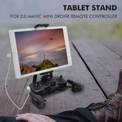 for DJI Mavic Mini Drone Remote Controller STARTRC Tablet Stand Holder Phone Holder Drone Device Holder Lanyard Support Quadcopter Accessory (Standard)