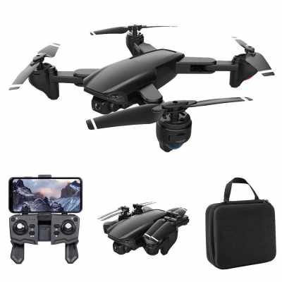 SG701 RC Drone with Camera 4K Dual Camera Wifi FPV Drone Foldable RC Quadcopter with Headless Mode Trajectory Flight with Bag (Type 2)