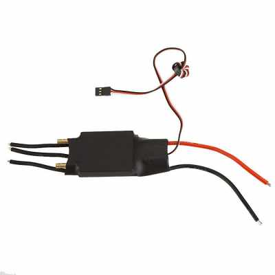GoolRC 80A Brushless Water Cooling Electric Speed Controller ESC with 5V/5A SBEC for RC Boat Model (Standard)