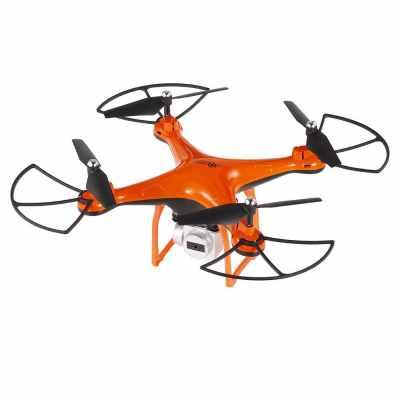 L10 2.4G 0.3MP Camera Wifi FPV RC Drone Quadcopter - RTF (Orange)