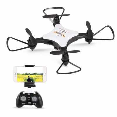 TYH TY-T7 0.3MP Camera Wifi FPV RC Drone Quadcopter RTF (White)