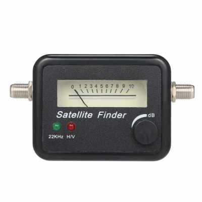 9502 Satellite Signal Finder Digital Signal Finder TV Receiver with Pointer (Standard)