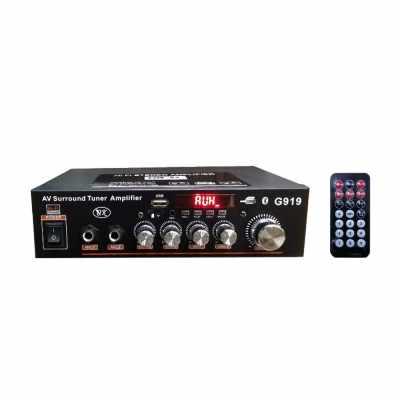 Mini Amplificador Audio Bluetooth Stereo Power Amplificador FM Reading Card Bluetooth Digital Power Amplificador (Standard)