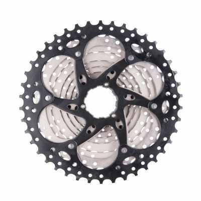 10 Speed 11-42T Wide Ratio MTB Mountain Bike Bicycle Part Cassette Sprocket Freewheel (Standard)