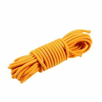 5 Meters 4mm / 5mm Kayak Boat Elastic Bungee Cord Rope (orange)