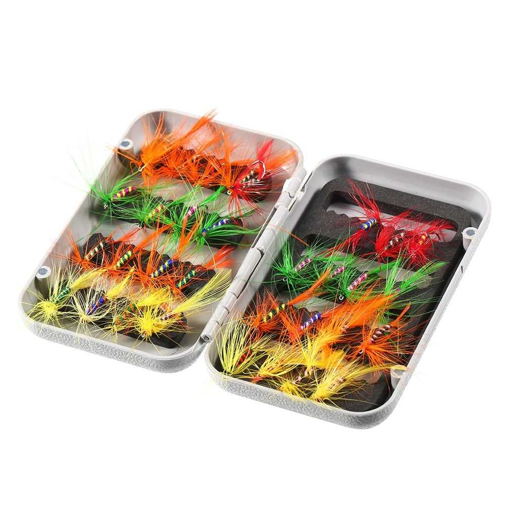 Off The Hook Easy Bait Fish Hooks Fish Tackle 6 Pk Bright Orange Hooks Lures