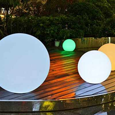 Practical LED Lights Indoor Outdoor Decoration Lamp Christmas Wedding Pool Bar Holiday Night Rechargeable Color Changing Lights