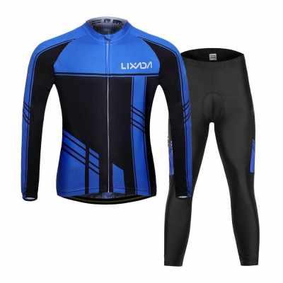 Lixada Men's Cycling Clothing Set (M)
