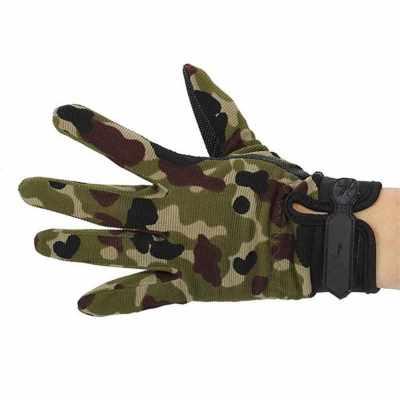 Outdoor Camouflage Non-slip Glove (Camouflage)